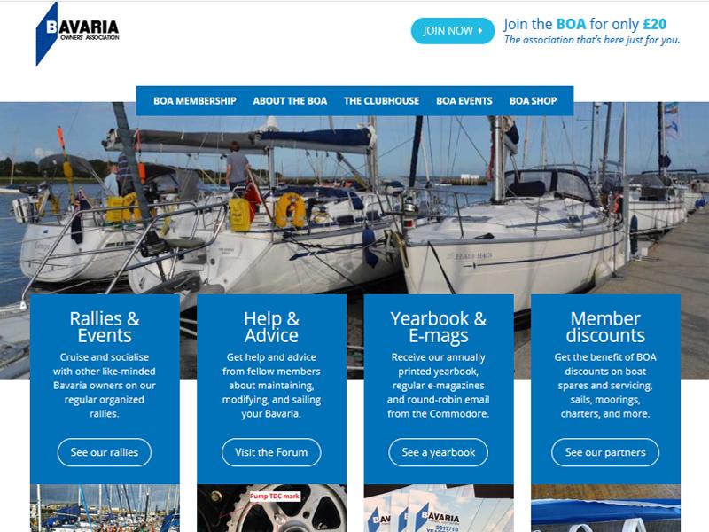 boa website