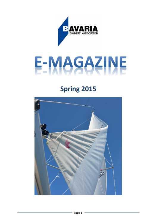 spring e-magazine 2015