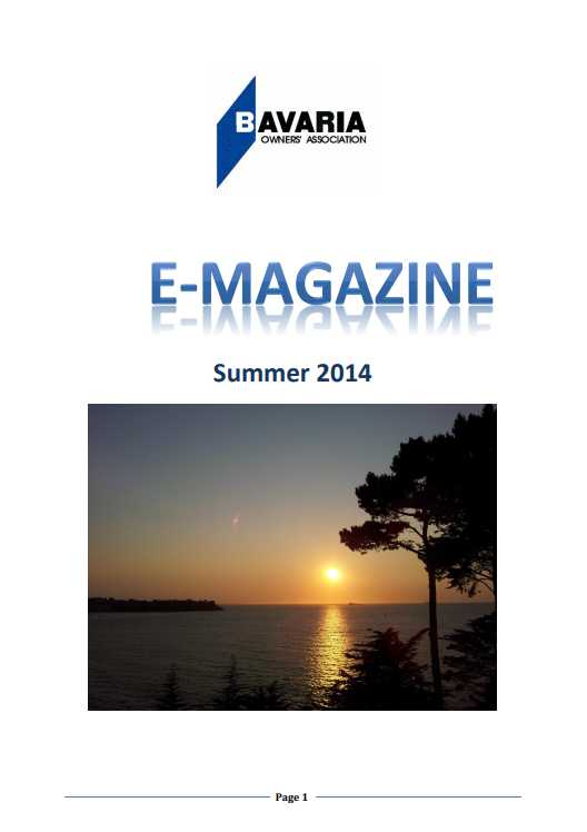 summer e-magazine 2014